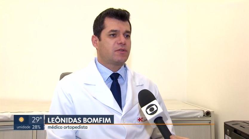 TV Globo G1 - Dr. Leônidsa Bomfim HSLS - 26-09-2018