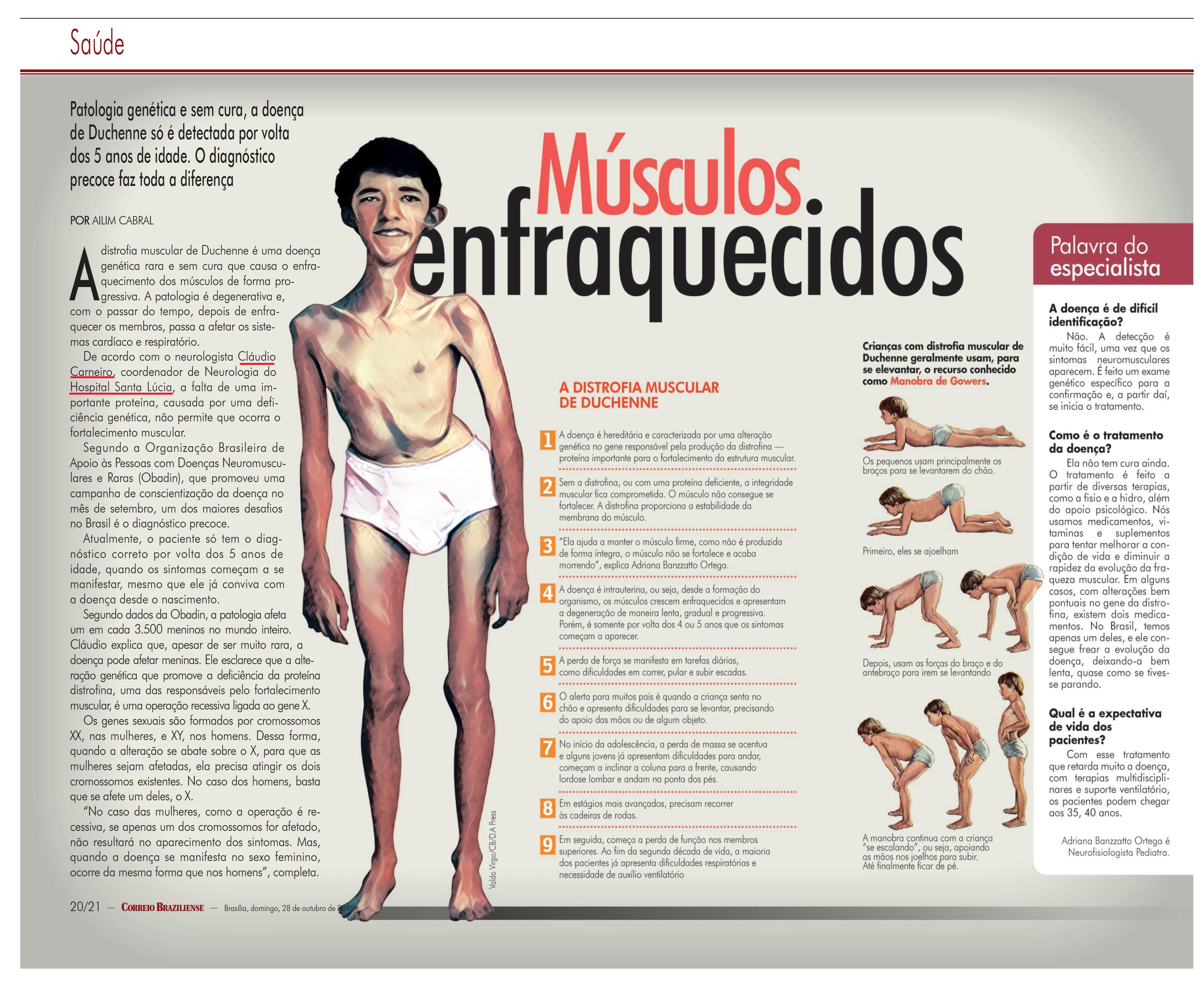 Revista do Correio - Dr. Cláudio Carneiro HSLS - 28-10-2018