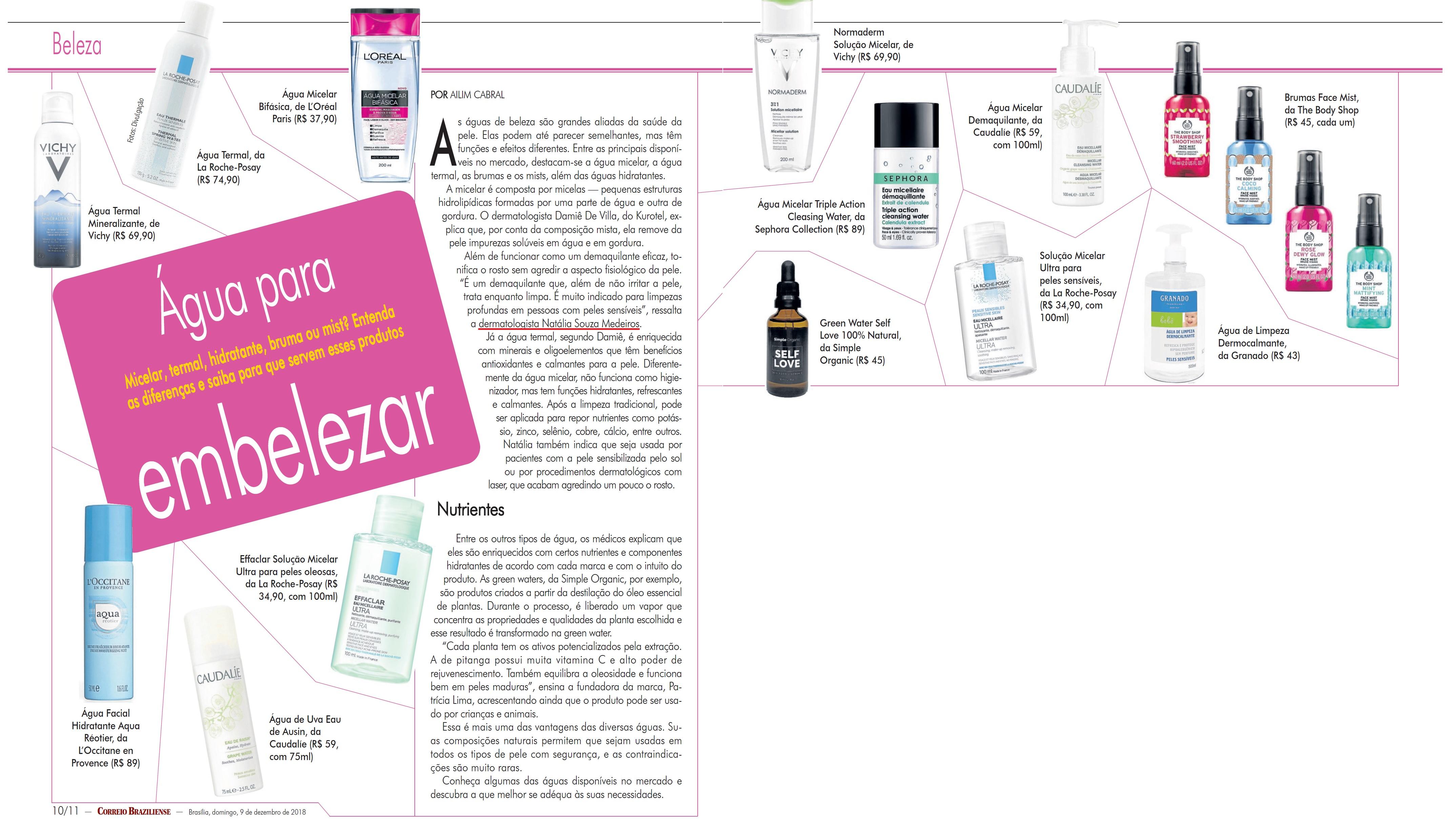 Revista do Correio - Dra. Natália Souza Medeiros HSLS - 10-12-2018
