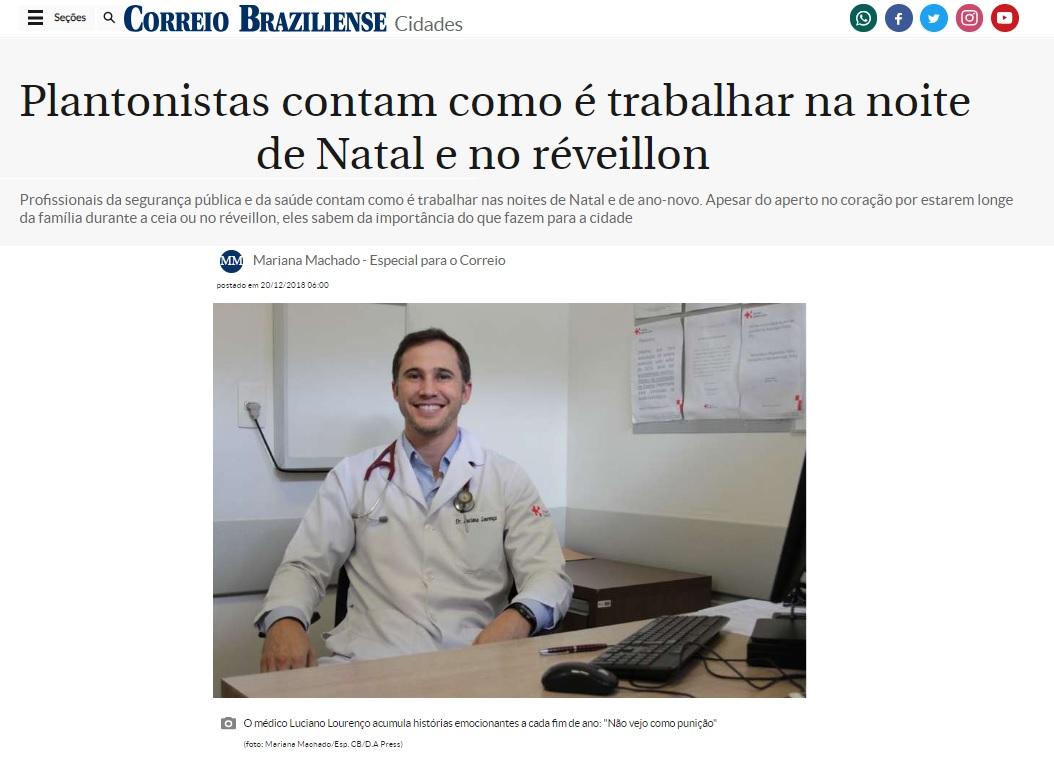 Correio Web - Dr. Luciano Lourenço HSLS - 20-12-2018