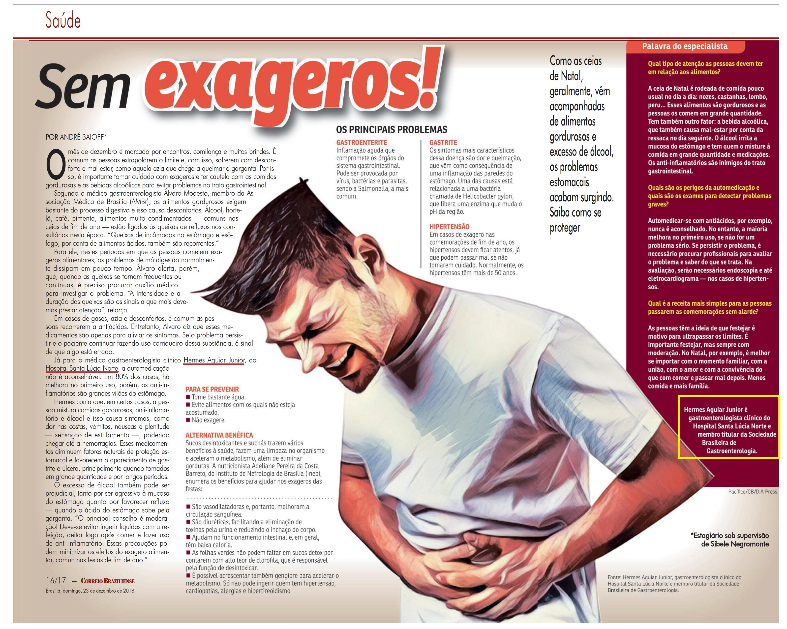Revista do Correio - Dr. Hermes Aguiar Júnior HSLN - 23-12-2018