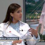 TV Globo 2 - Dra. Larissa Camargo HSLS - 28-12-2018