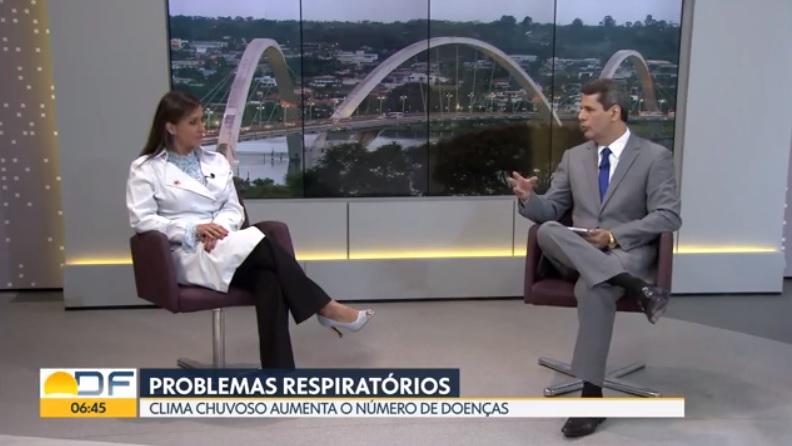 TV Globo - Dra. Larissa Camargo HSLS - 28-12-2018