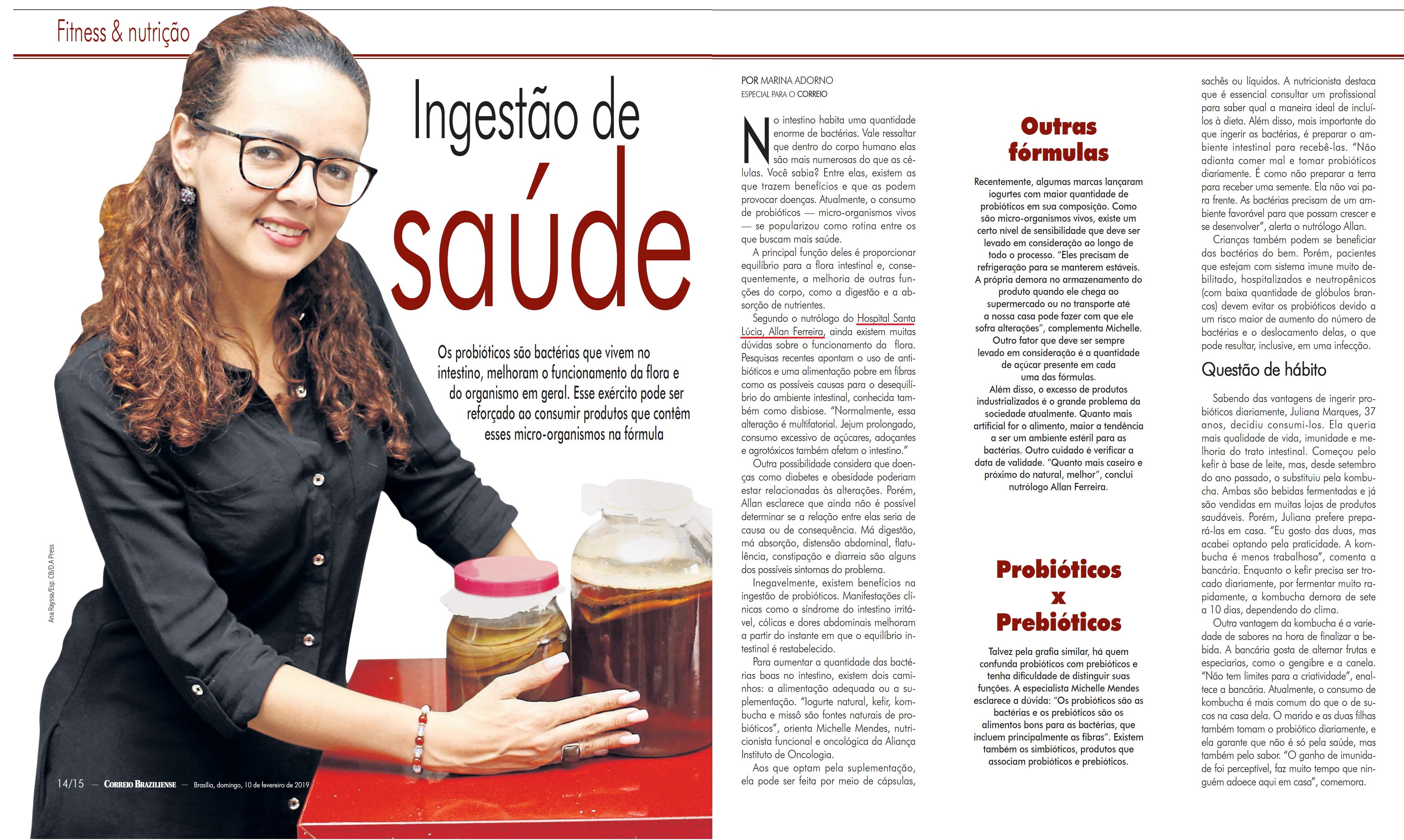 Revista do Correio - Dr. Allan Ferreira HSLS - 12-02-2019