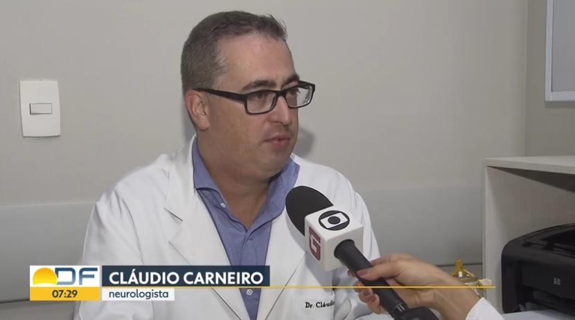 TV Globo - Dr. Cláudio Carneiro HSLS - 15-02-2019