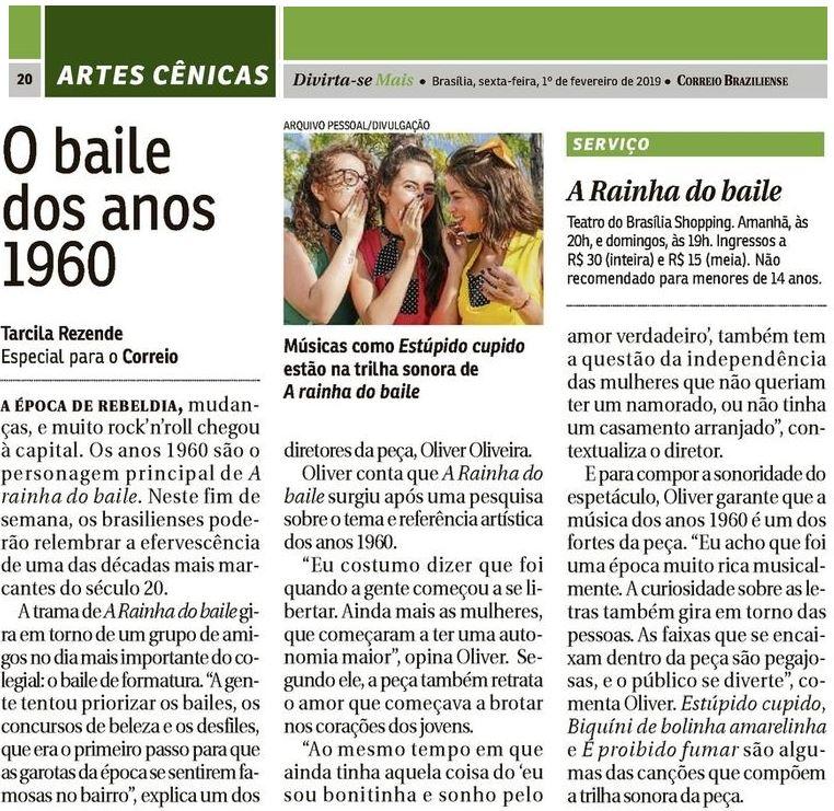 Teatro Rainha D+