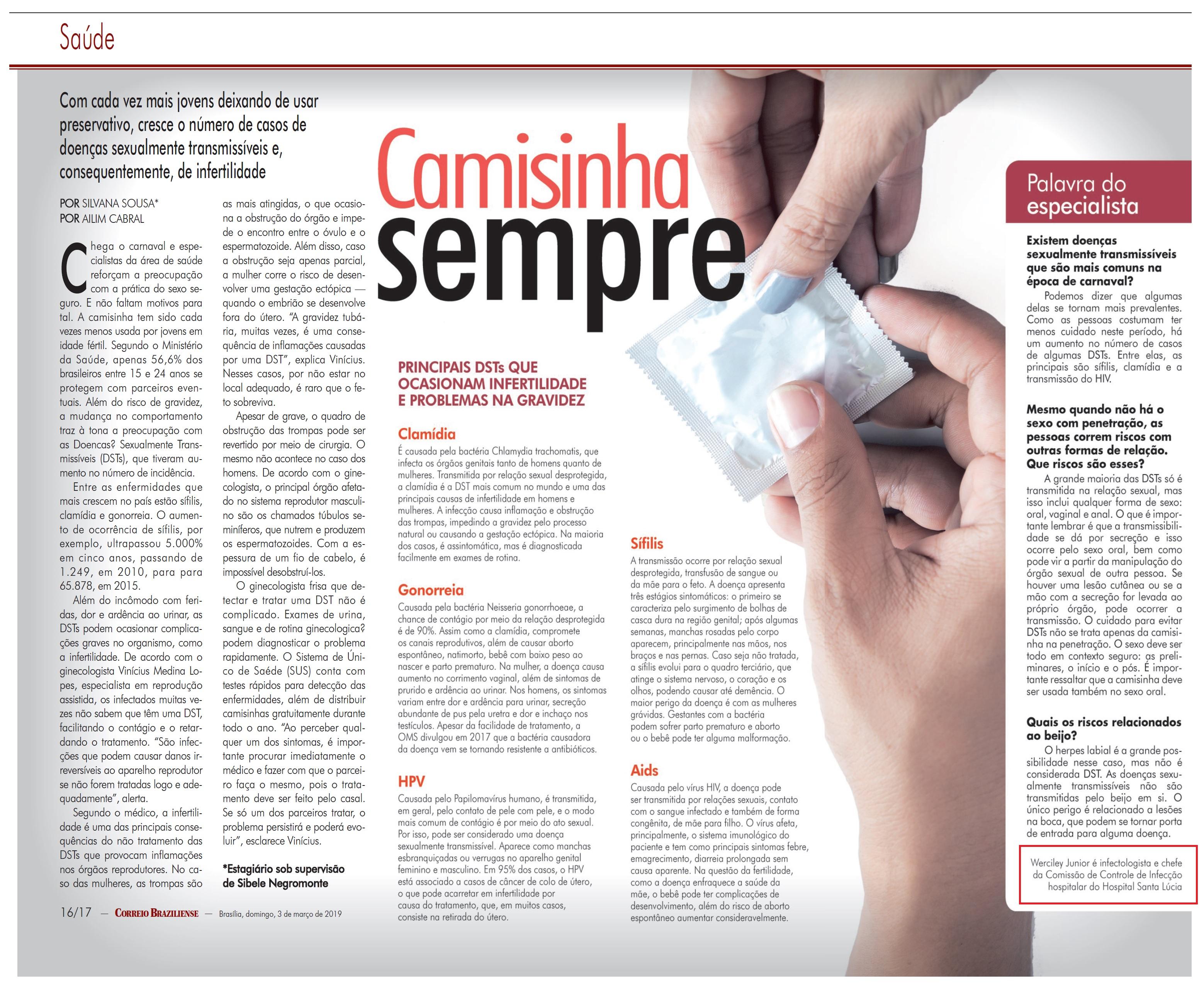 Revista do Correio - Dr. Werciley Júnior HSLS - 03-03-2019