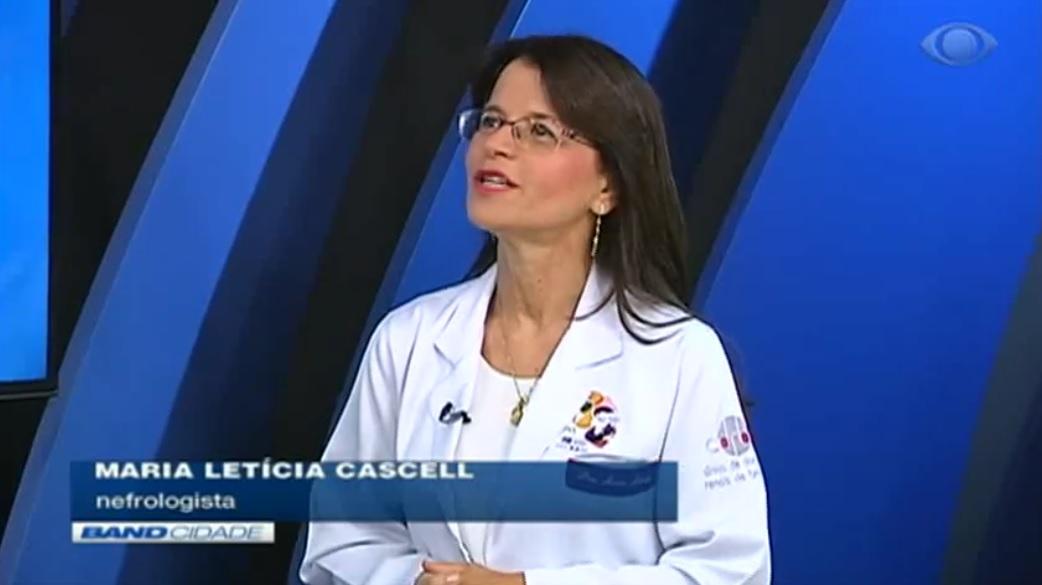 TV Band - Dra. Maria Letícia Cascelli CDRB - 20-03-2019
