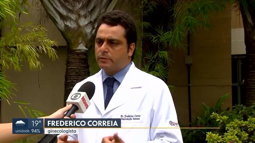 TV Globo - Dr. Frederico Corrêa - FertilCare - 25-03-2019