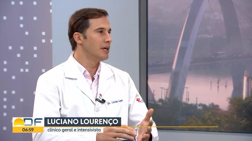 TV Globo - Dr. Luciano Lourenço HSLS - 18-03-2019