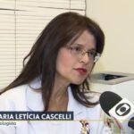 TV Globo - Dra. Maria Letícia Cascelli CDRB - 14-03-2019