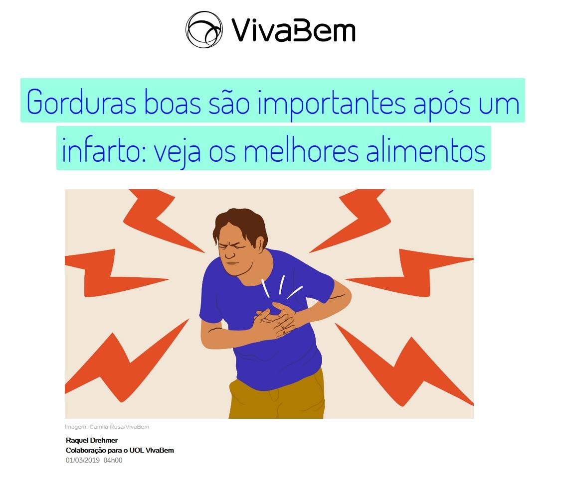 UOL Notícias (VivaBem) - Dr. Lázaro F de Miranda HSLS - 20-03-2019