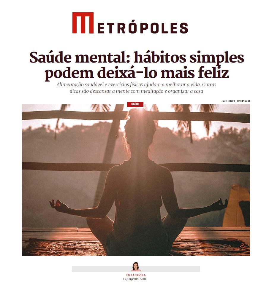 Metrópoles - Dr. Marcos Pontes HSLS - 18-04-2019