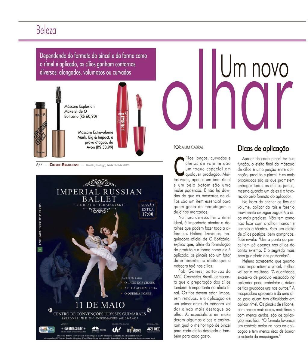 Rebista do Correio pg 6 Beleza O Boticário
