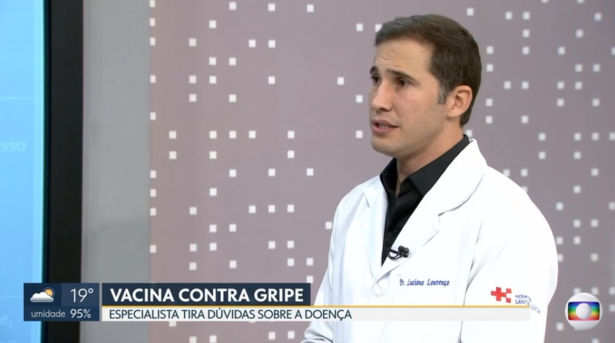 TV Globo - Dr. Luciano Lourenço HSLS - 10-04-2019