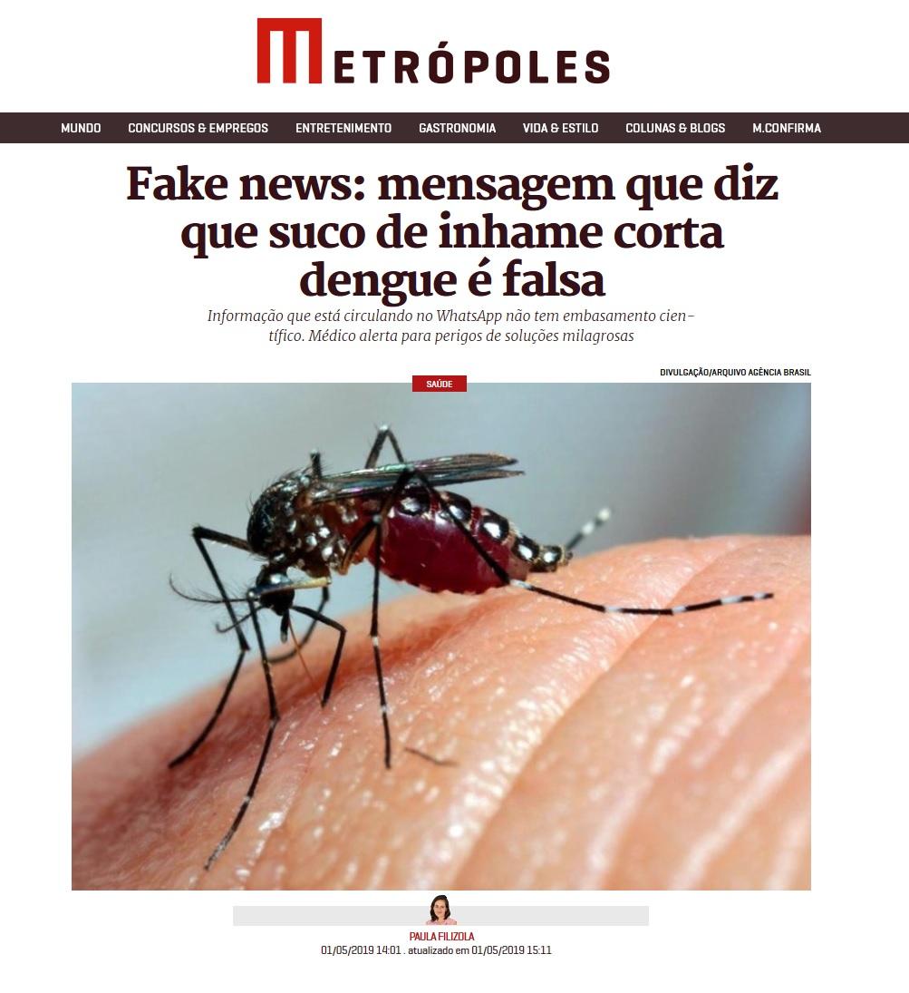 Metrópoles - Dr. Luciano Lourenço HSLS - 14-05-2019 [2]