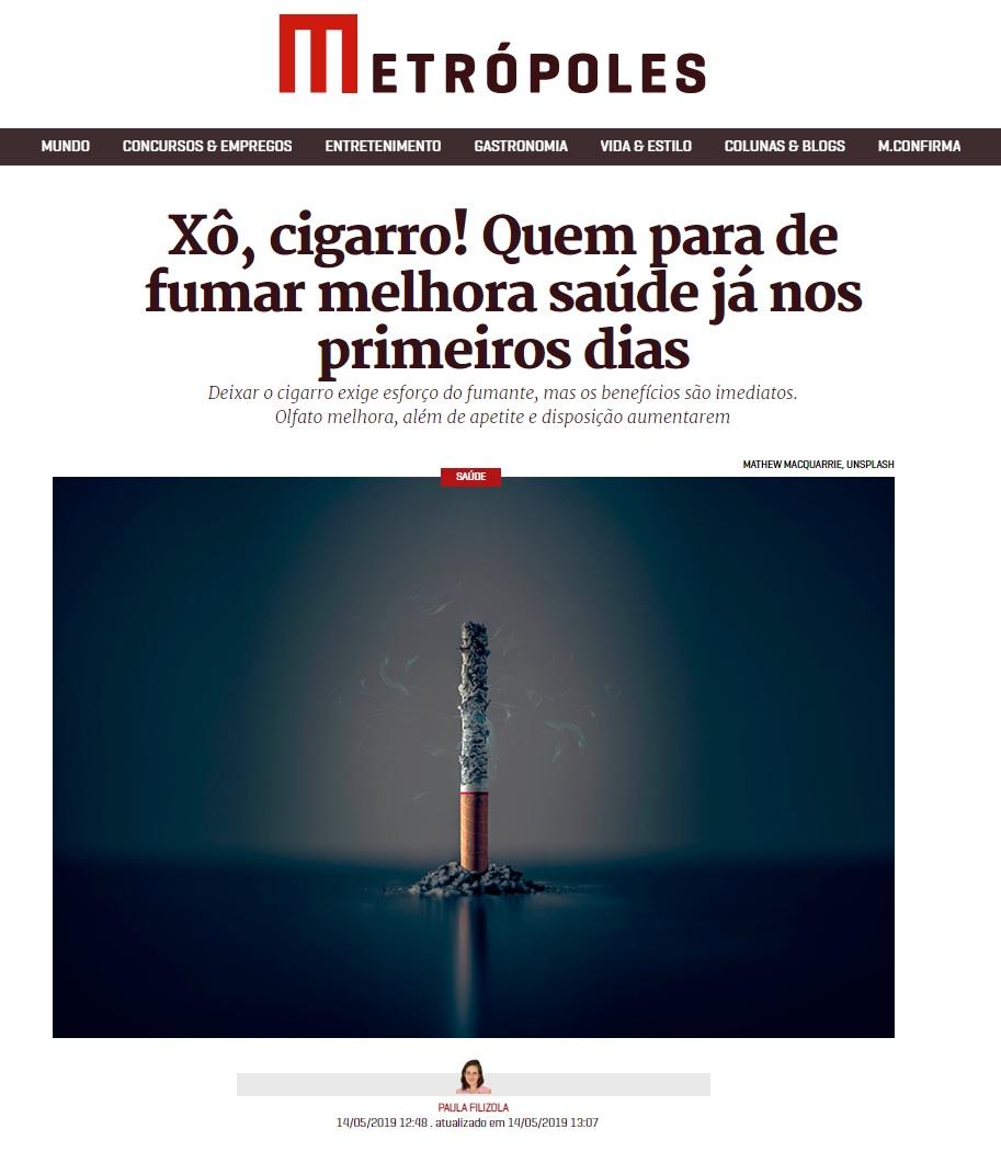 Metrópoles - Dra. Clarisse Guimarães HSLS - 15-05-2019