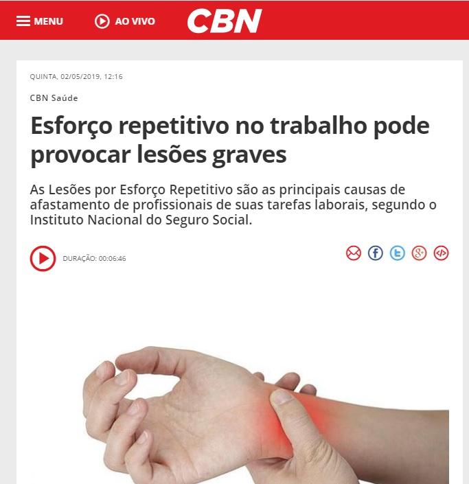 Rádio CBN Brasília - Dr. Julian Machado HSLS - 02-05-2019