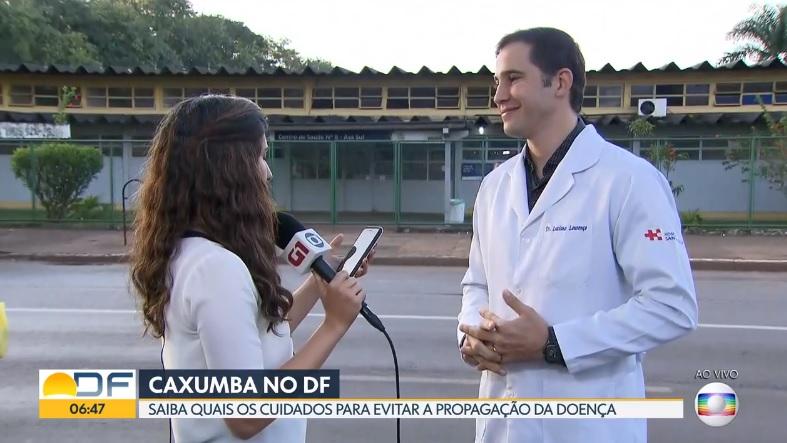 TV Globo - Dr. Luciano Lourenço HSLS - 01-05-2019