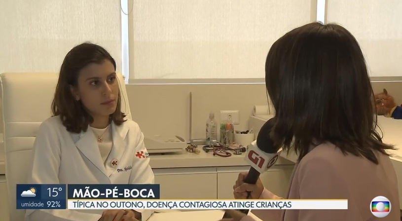 TV Globo - Dra. Nathália Sarkis HSLS - 21-05-2019