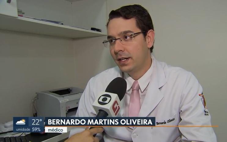 TV Globo - Dr. Bernardo Martins HSLSN - 12-06-2019