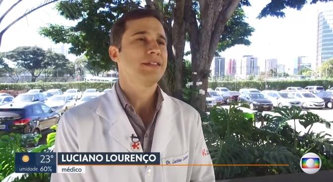 TV Globo - Dr. Luciano Lourenço HSLS - 29-05-2019