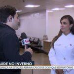 TV Globo - Dra. Larissa Camargo HSLS - 20-06-2019