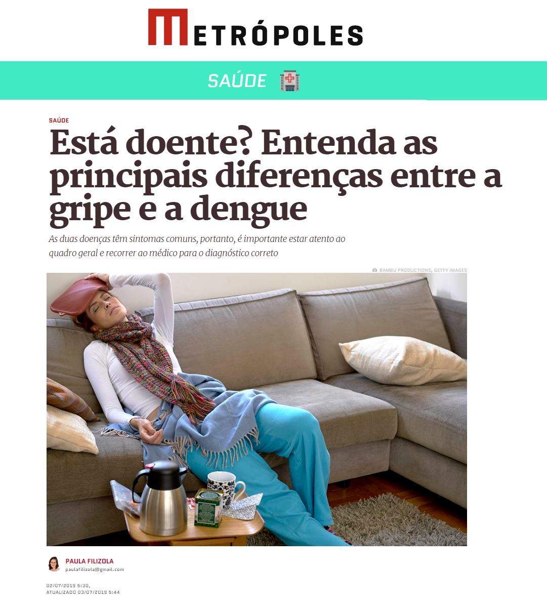 Metrópoles - Dr. Luciano Lourenço HSLS - 05-07-2019