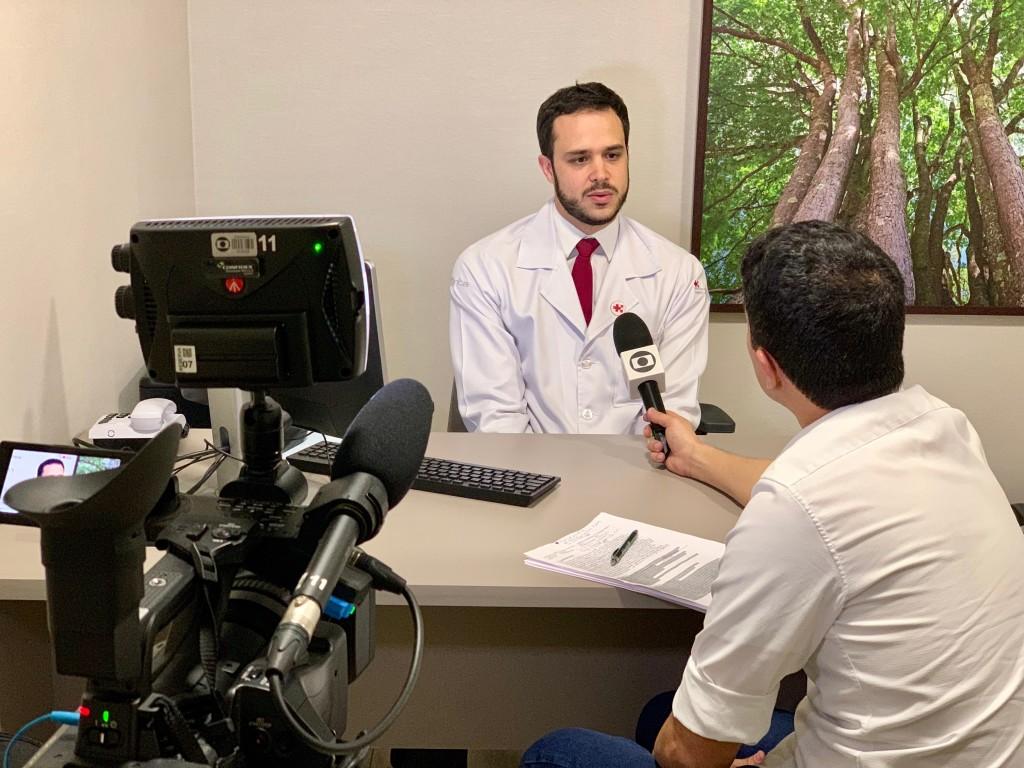 TV Globo - Dr. Eduardo Vissotto COSL - 25-07-2019