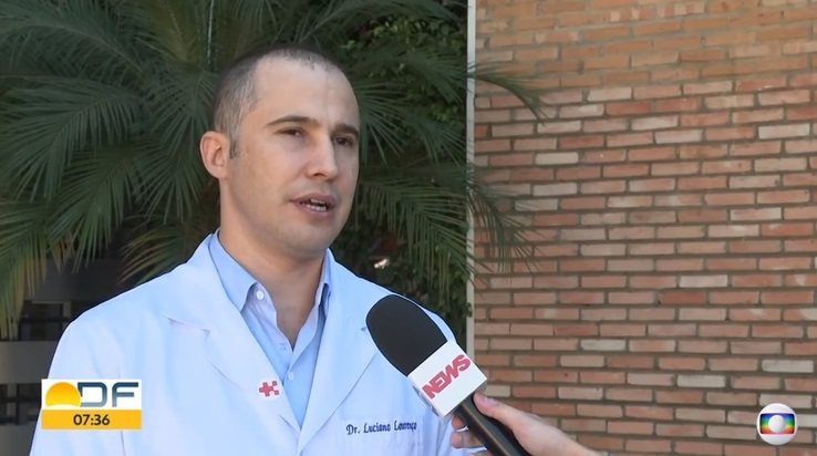 TV Globo - Dr. Luciano Lourenço HSLS - 08-07-2019
