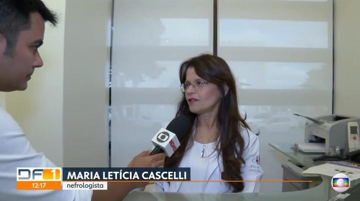 TV Globo - Dra. Maria Letícia Cascelli CDRB - 24-07-2019