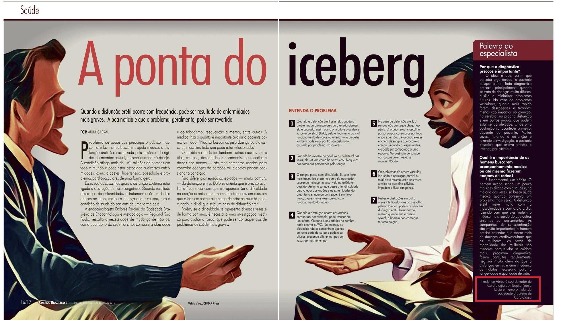 Revista do Correio - Dr. Frederico Abreu HSLS - 05-08-2019