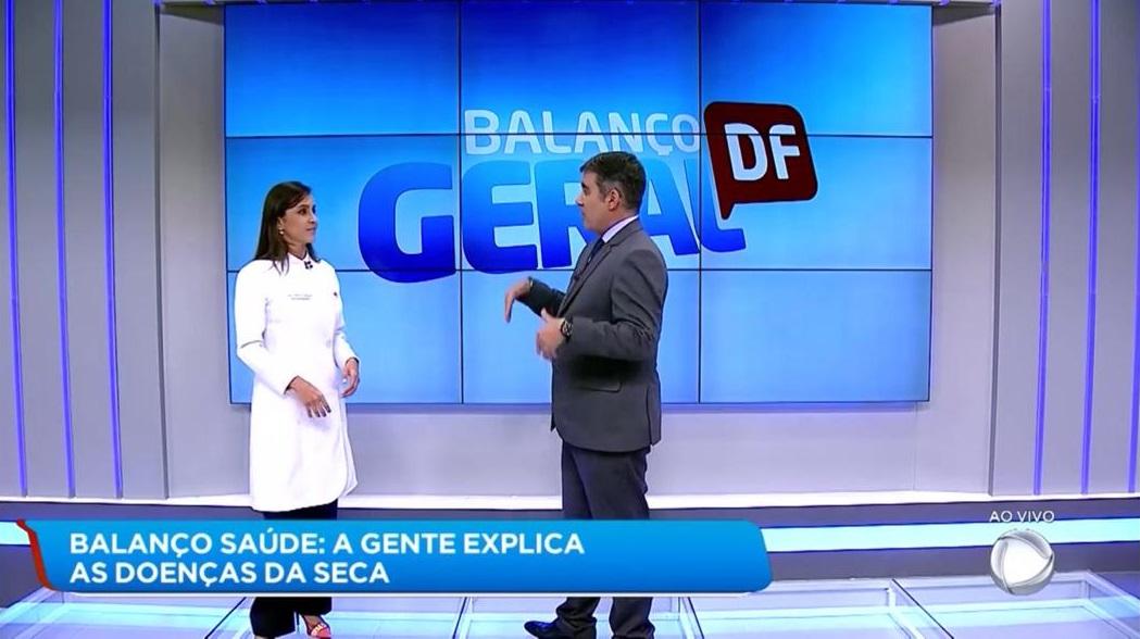 TV Record 1 - Dra. Larissa Camargo HSLS - 20-08-2019