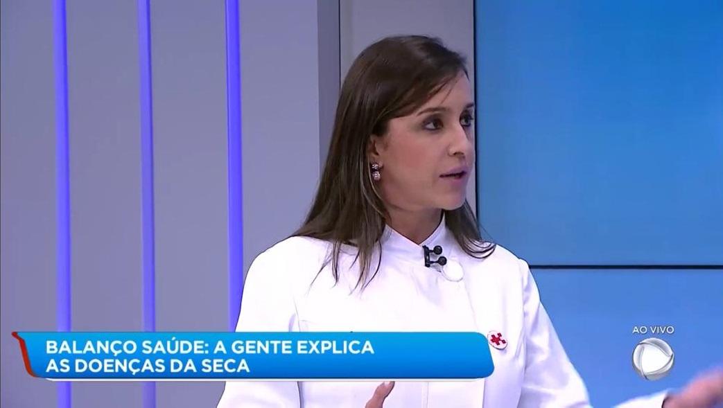 TV Record 2 - Dra. Larissa Camargo HSLS - 20-08-2019