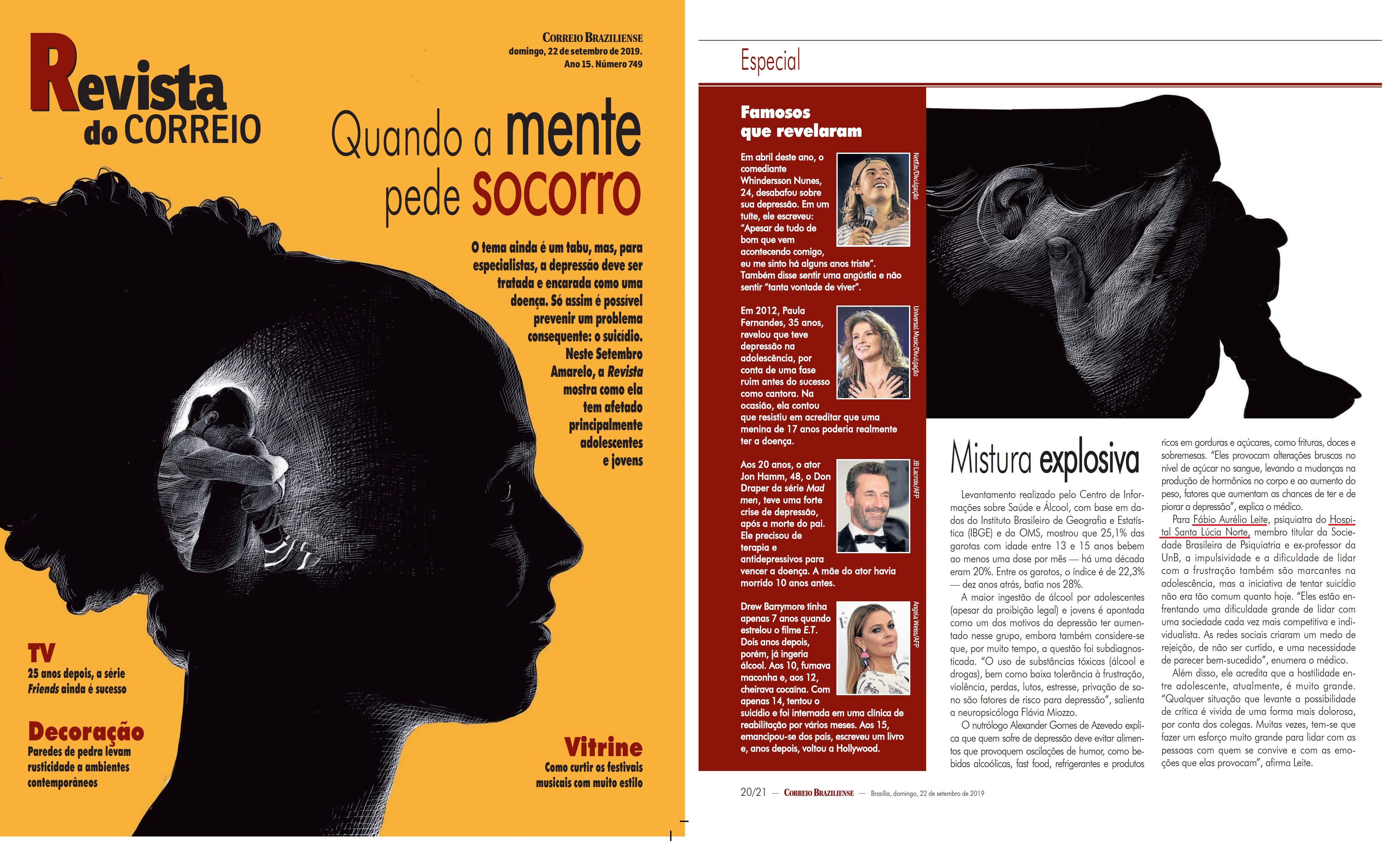 Revista do Correio - Dr. Fábio Aurélio Leite HSLN - 23-09-2019