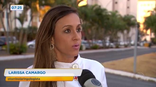 TV Record - Dra. Larissa Camargo HSLS - 19-09-2019