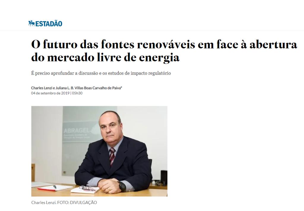 ESTADÃO   ABRAGEL