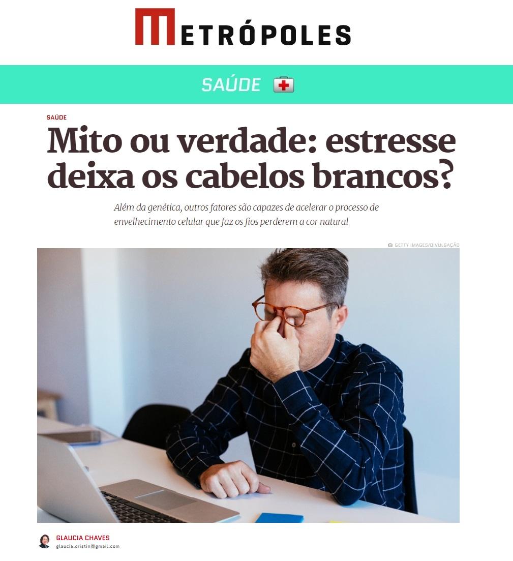 Metrópoles - Dra. Natália Souza Medeiros HSLS - 10-10-2019
