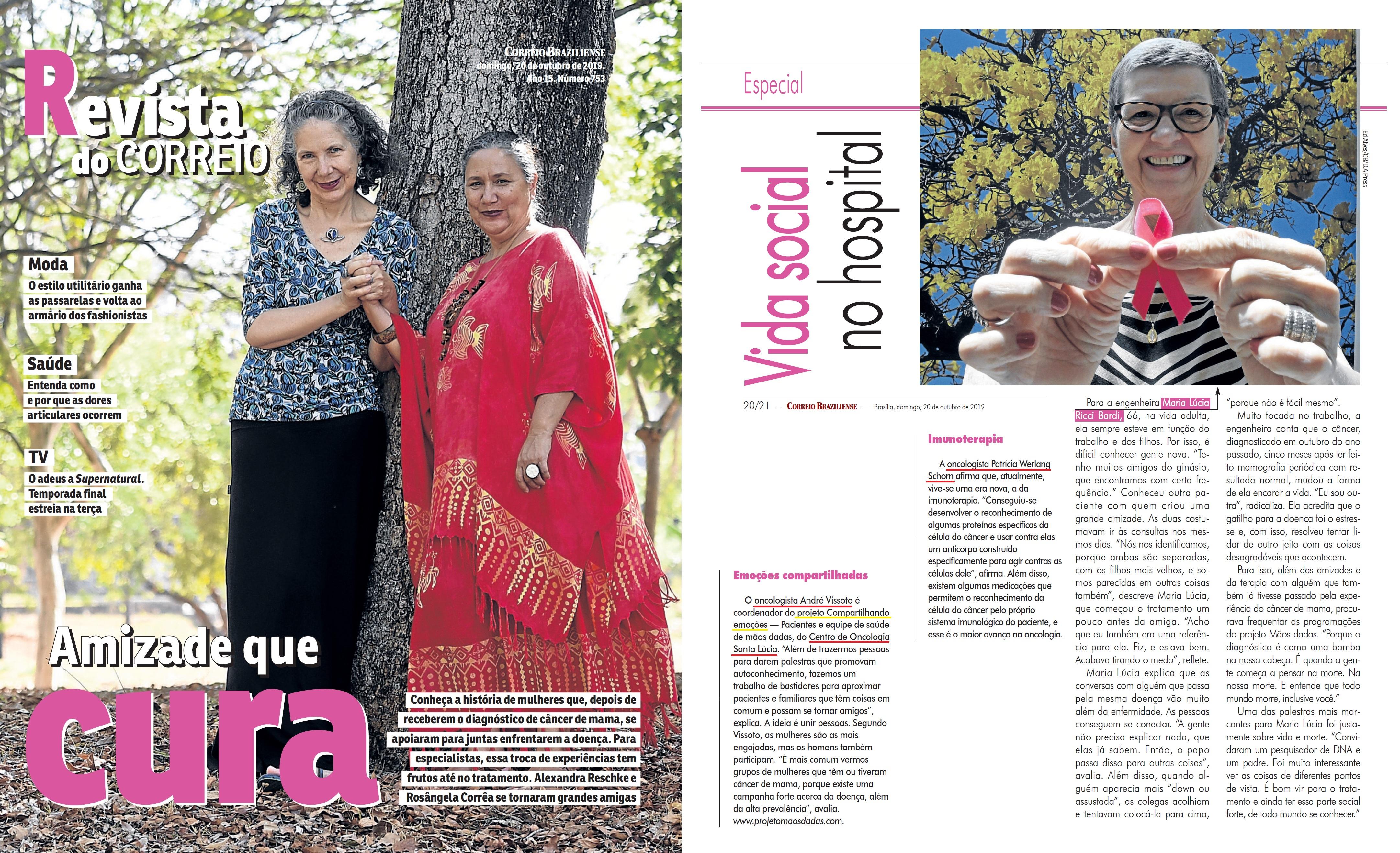 Revista do Correio - Outubro Rosa HSLS - 21-10-2019
