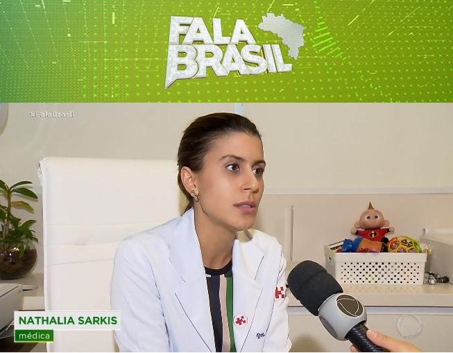 TV Record [Fala Brasil] - Dra. Nathália Sarkis HSLS - 25-10-2019