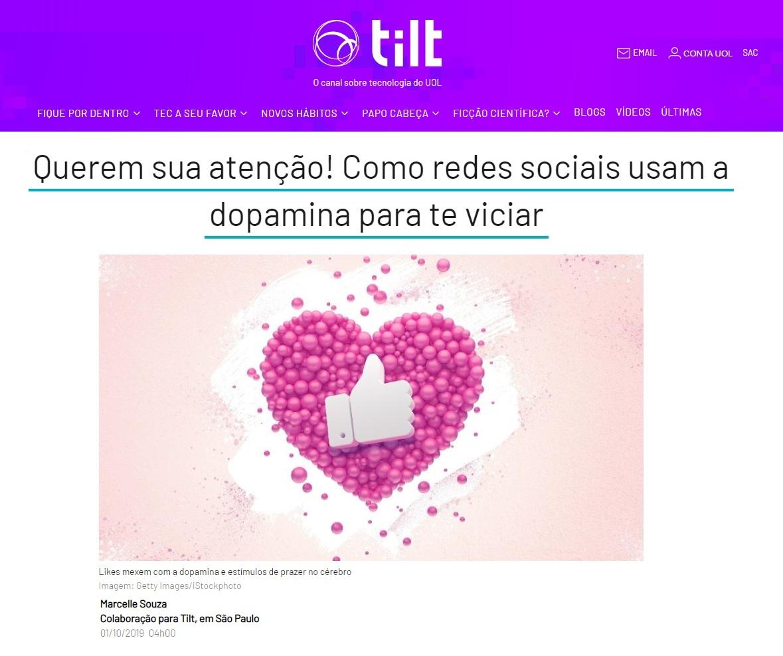 UOL TILT - Dr. Fábio Aurélio Leite HSLN - 01-10-2019