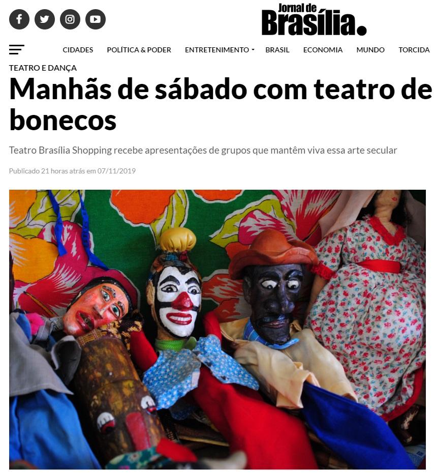 Teatro de Bonecos - JBr