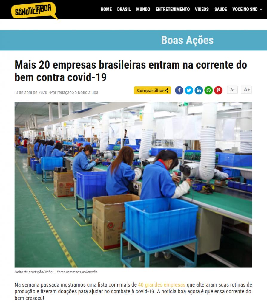 Mais_20_empresas_brasileiras_entram_na_corrente_do_bem_contra_covid_19_Só_Notícia_Boa