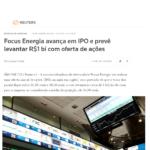 REUTERS | FOCUS ENERGIA