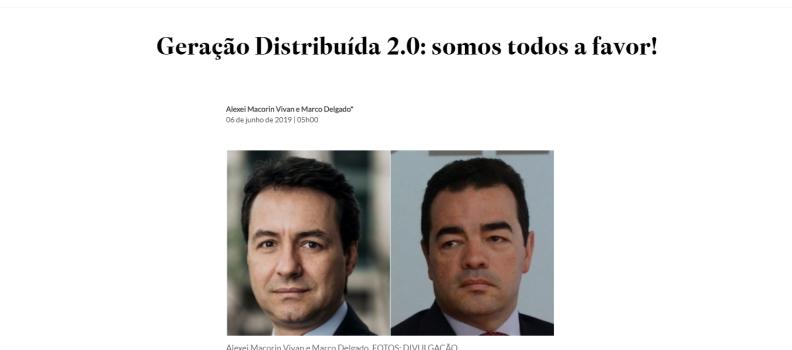ESTADÃO | ABCE | ABRADEE