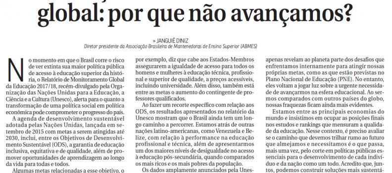 📰 CORREIO BRAZILIENSE | ABMES