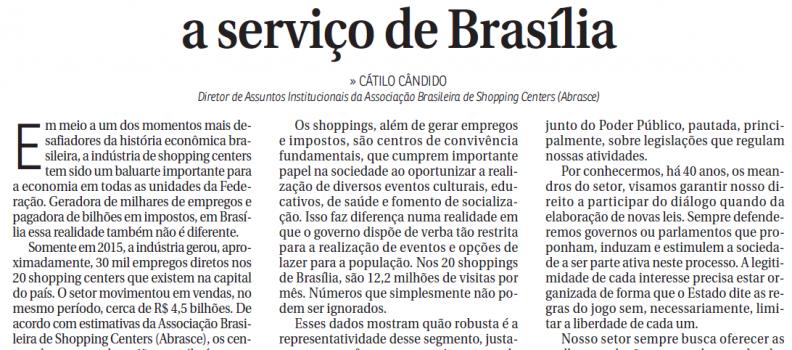 📰 CORREIO BRAZILIENSE | ABRASCE