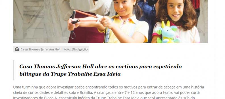 💻 AQUI TEM DIVERSÃO| CASA THOMAS JEFFERSSON