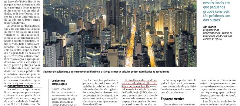 CORREIO BRAZILIENSE | HOSPITAL SANTA LÚCIA