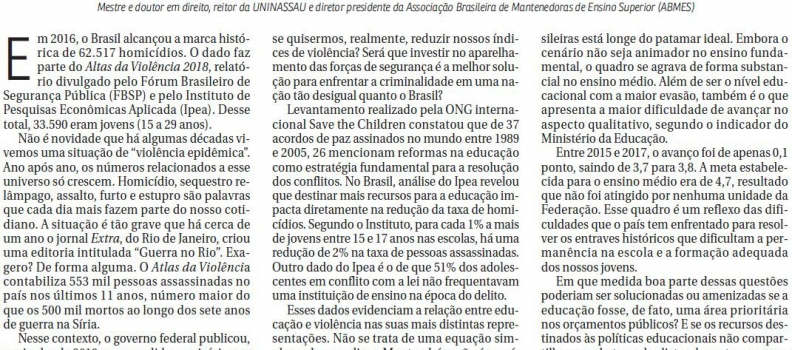 📰 CORREIO BRAZILIENSE   ABMES